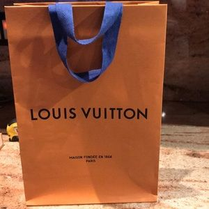 Luis Vuitton paper bag